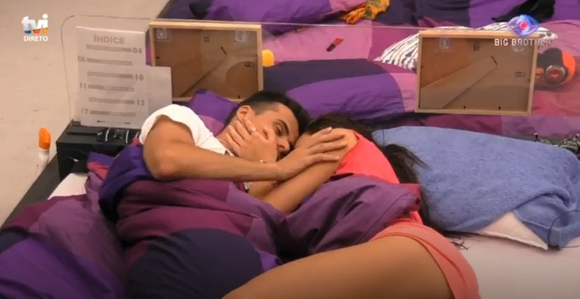 Jessica e Pedro Alves, do 'Big Brother'