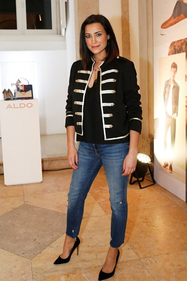 Os looks pretos do desfile Aldo