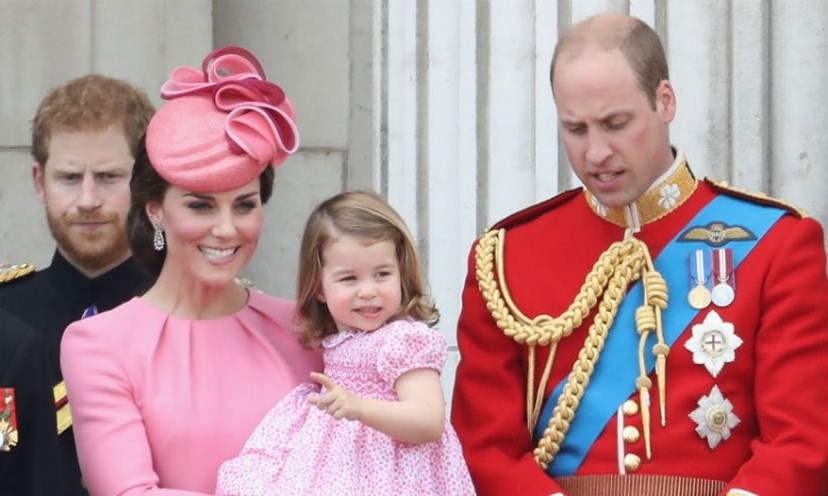 Harry, Kate, Charlotte e William