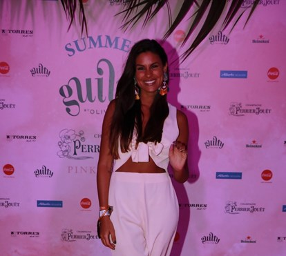 Famosos arrasam no Sunset Olivier