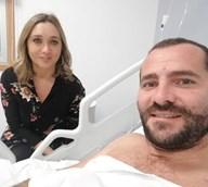 Deitado na cama do hospital, Bruno Caetano do  Você na TV  actualiza o seu  estado de saúde fc46fbf346