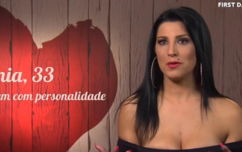 Sónia no 'First Dates'