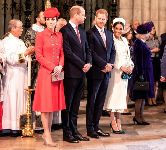 Kate Middleton, Meghan Markle, Harry, William