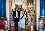 Donald Trump e a rainha Isabel II