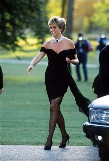 Princesa Diana, revenge dress