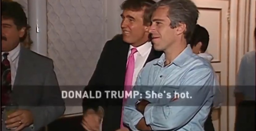 Donald Trump, Jeffrey Epstein