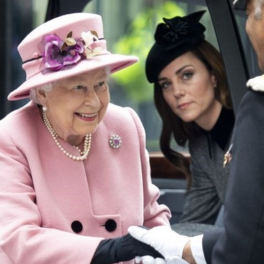 Kate Middleton e Isabel II